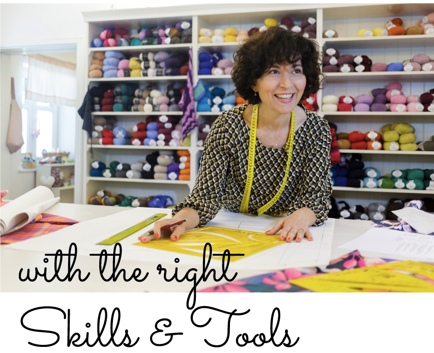 The right skills and tools