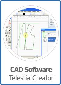 Telestia Creator Fashion Design Cad Software